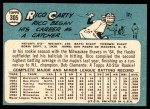 1965 Topps #305  Rico Carty  Back Thumbnail