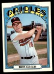 1972 Topps #338  Bobby Grich  Front Thumbnail