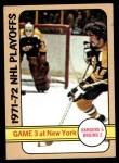 1972 Topps #4   NHL Playoff Game 3 Front Thumbnail