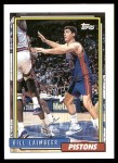 1992 Topps #29  Bill Laimbeer  Front Thumbnail