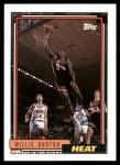 1992 Topps #62  Willie Burton  Front Thumbnail