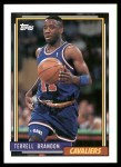 1992 Topps #69  Terrell Brandon  Front Thumbnail