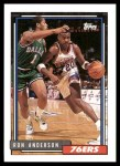 1992 Topps #87  Ron Anderson  Front Thumbnail