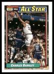 1992 Topps #107   -  Charles Barkley All-Star Front Thumbnail