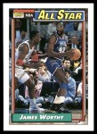 1992 Topps #108   -  James Worthy All-Star Front Thumbnail