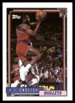1992 Topps #157  A.J. English  Front Thumbnail