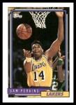 1992 Topps #174  Sam Perkins  Front Thumbnail