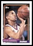 1992 Topps #190  Kevin Johnson  Front Thumbnail