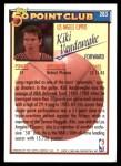 1992 Topps #203   -  Kiki Vandeweghe 50 Point Club Back Thumbnail