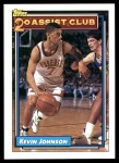 1992 Topps #222   -  Kevin Johnson 20 Assist Club Front Thumbnail
