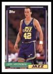 1992 Topps #247  Larry Krystkowiak  Front Thumbnail