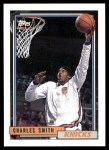 1992 Topps #253  Charles Smith  Front Thumbnail