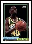 1992 Topps #267  Shawn Kemp  Front Thumbnail