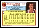 1992 Topps #326  Dan Majerle  Back Thumbnail