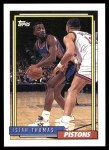 1992 Topps #331  Isiah Thomas  Front Thumbnail