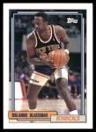 1992 Topps #355  Rolando Blackman  Front Thumbnail