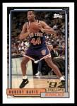 1992 Topps #381  Hubert Davis  Front Thumbnail