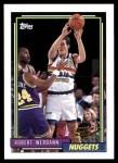 1992 Topps #394  Robert Werdann  Front Thumbnail
