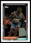 1992 Topps #5  Johnny Newman  Front Thumbnail