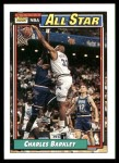 1992 Topps #107   -  Charles Barkley All-Star Front Thumbnail