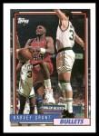 1992 Topps #172  Harvey Grant  Front Thumbnail
