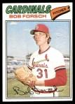 1977 Topps #381  Bob Forsch  Front Thumbnail