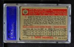 1952 Topps #261  Willie Mays  Back Thumbnail