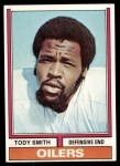 1974 Topps #336  Tody Smith  Front Thumbnail