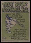 1972 Topps #253   -  Duane Thomas Pro Action Back Thumbnail