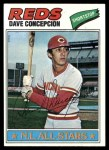 1977 Topps #560  Dave Concepcion  Front Thumbnail