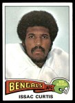 1975 Topps #25  Isaac Curtis  Front Thumbnail