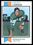 1973 Topps #302  Mark Lomas  Front Thumbnail