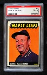 1965 Topps #11  Punch Imlach  Front Thumbnail