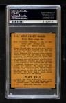 1940 Play Ball #176  Heinie Manush  Back Thumbnail
