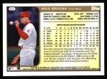 1999 Topps #321  Rico Brogna  Back Thumbnail