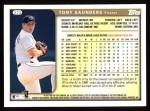 1999 Topps #373  Tony Saunders  Back Thumbnail