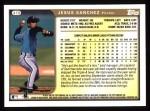 1999 Topps #419  Jesus Sanchez  Back Thumbnail