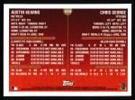 1999 Topps #439  Austin Kearns / Chris George  Back Thumbnail