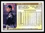 1999 Topps #78  Jay Bell  Back Thumbnail