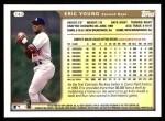 1999 Topps #142  Eric Young  Back Thumbnail