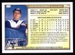 1999 Topps #414  Justin Baughman  Back Thumbnail