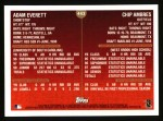 1999 Topps #443  Adam Everett / Chip Ambres  Back Thumbnail