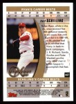 1999 Topps #447   -  Curt Schilling Strikeout Kings Back Thumbnail