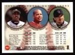 1999 Topps #455   -  Barry Bonds / Manny Ramirez / Larry Walker All- OF Back Thumbnail