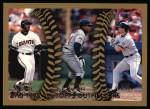 1999 Topps #455   -  Barry Bonds / Manny Ramirez / Larry Walker All- OF Front Thumbnail