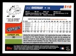 2006 Topps #518  Lyle Overbay  Back Thumbnail