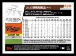 2006 Topps #528  Doug Mirabelli  Back Thumbnail