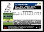2006 Topps #628   -  Tim Corcoran Rookie Card Back Thumbnail