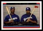 2006 Topps #653   -  Prince Fielder / Richie Weeks Brewers Team Stars Front Thumbnail