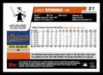 2006 Topps #21  Lance Berkman  Back Thumbnail